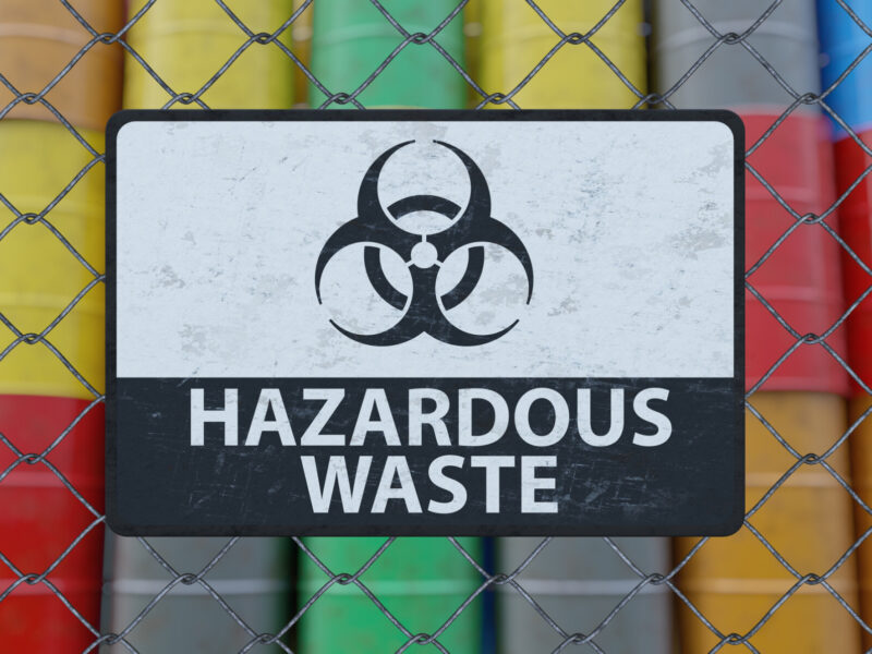 Hazardous waste storage